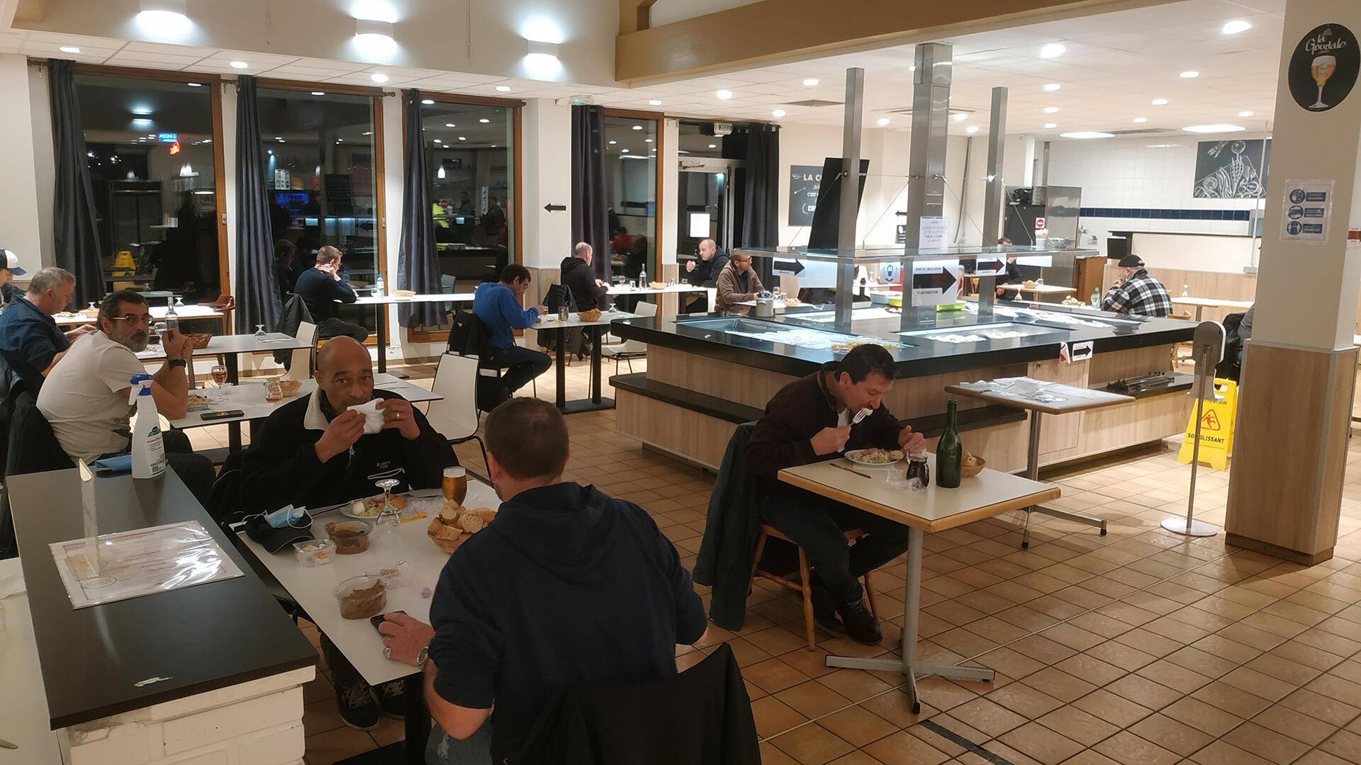 chauffeurs routiers - restaurant - France - Alexis Bedu