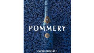 Affiche de l'expérience Pommery 2012.