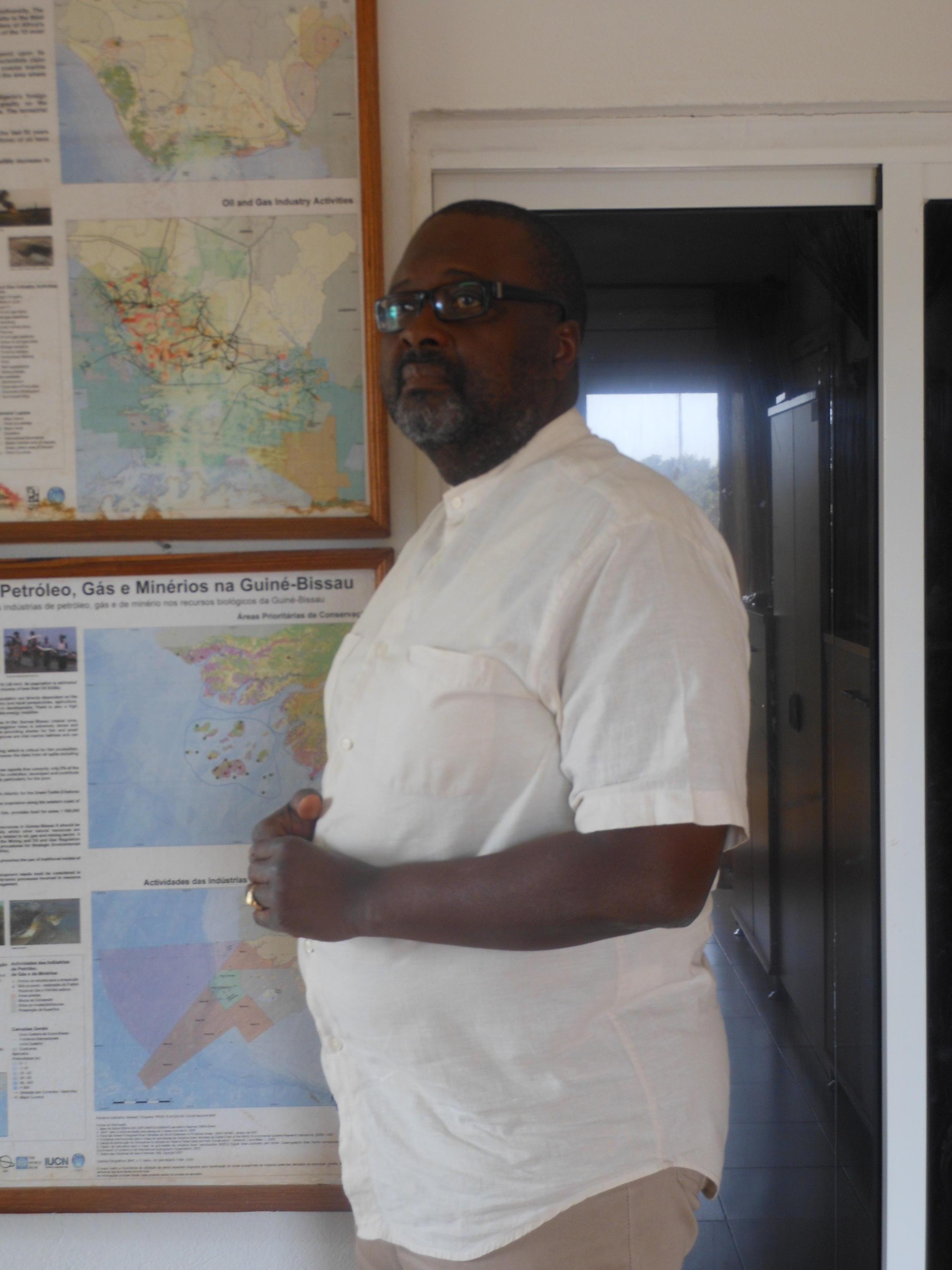 Nelson Dias, chefe de programa da União mundial para a conservação da natureza na Guiné-Bissau