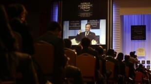 Dalian, le 14 septembre 2011. Ouverture du Forum économique mondial, le «Davos d'été».