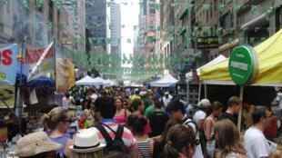 Brazilian day ocupa as ruas de Nova York uma vez por ano.