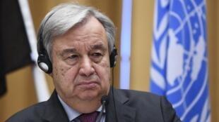 António Guterres, Secretário-Geral da ONU. 13 de Dezembro de 2018.