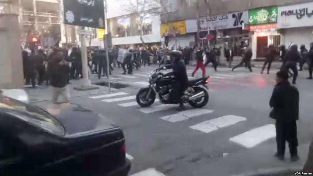 درگیریهای خیابان پاسداران-گلستان هفتم-دراویش گنابادی