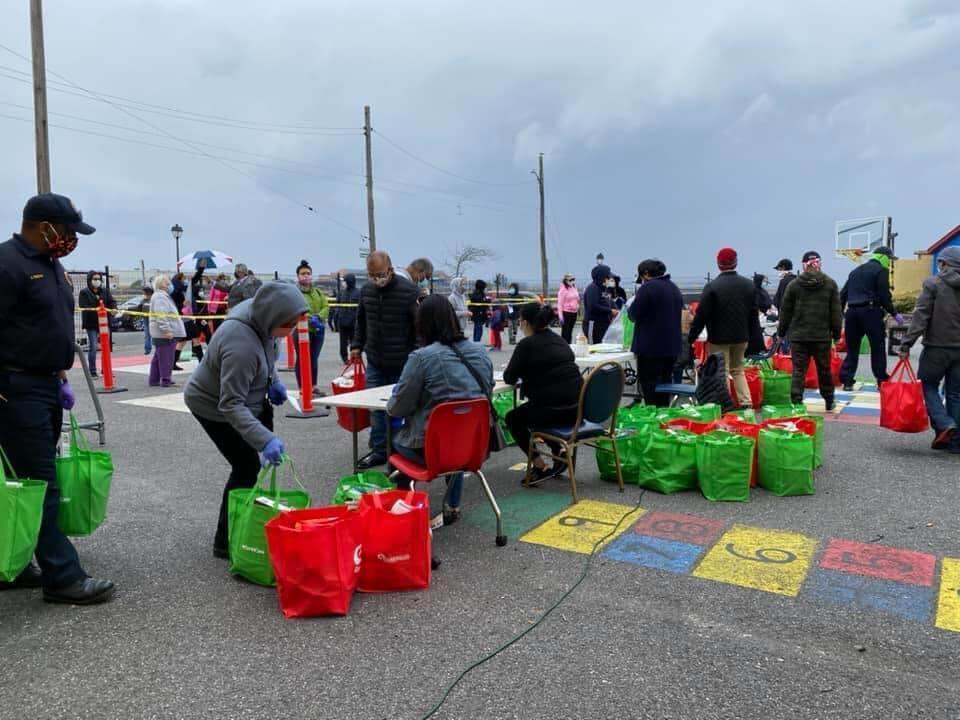 Migrantes Latinos Atlantic City Nueva Jersey