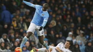 Yaya Touré a marqué le but de la victoire pour Manchester City face à Swansea.