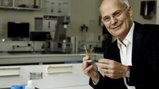 Ludwik Leibler, chercheur CNRS, prix de l'Inventeur européen de l'année 2015.