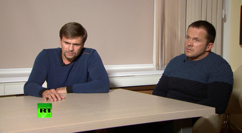 """Интервью """"Петрова"""" и """"Боширова"""" телеканалу RT 13 сентября 2018."""