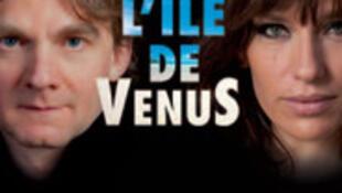 L'affiche du spectacle «L'île de Vénus».