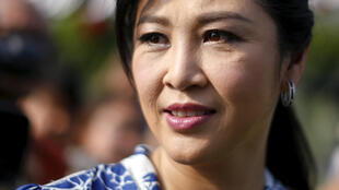 Yingluck Shinawatra à Bangkok, en Thaïlande, le 12 février 2016.