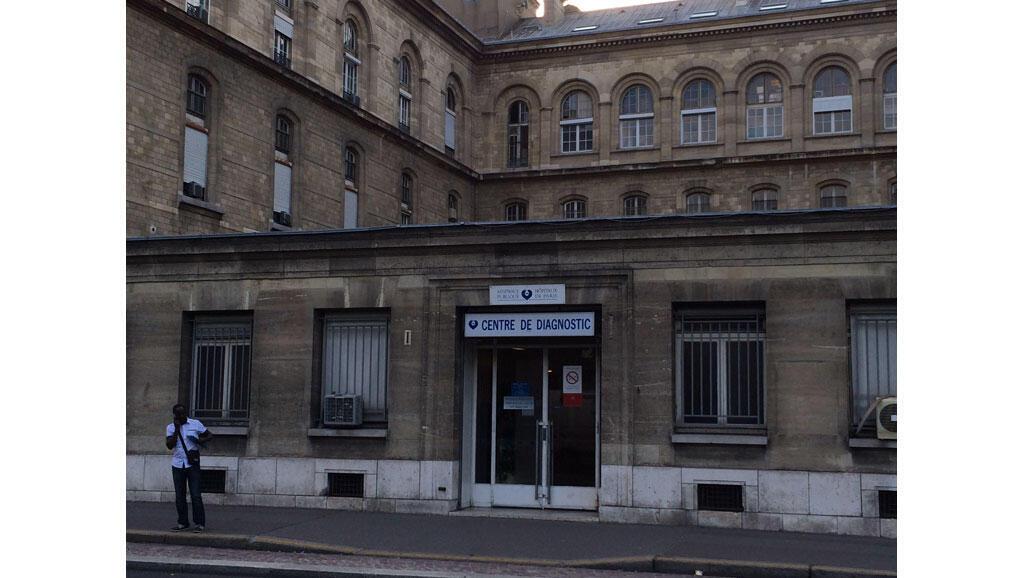 Hôpital Hôtel Dieu, service PASS.