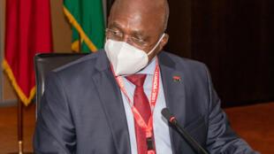 Ministro das Relações Exteriores de Angola, Téte António. Luanda, 16 de Julho de 2021.