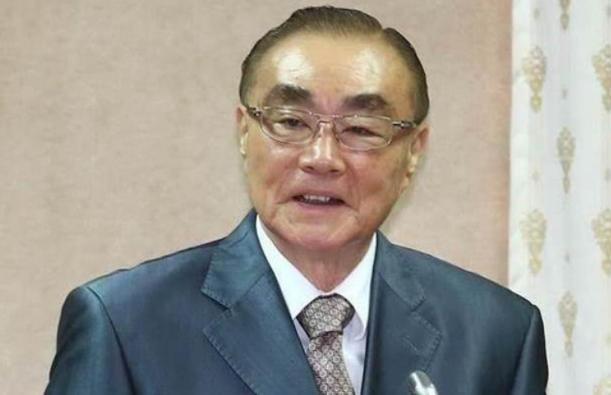台灣前國防部長馮世寬資料圖片