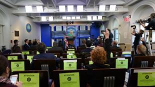Maison Blanche - Conférence de presse