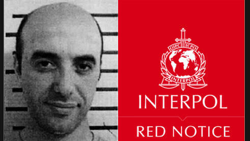 Interpol's red notice for Redoine Faïd