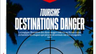 O jornal Liberation desta terça-feira (14) faz um balanço sobre as destinações perigosas para o turismo