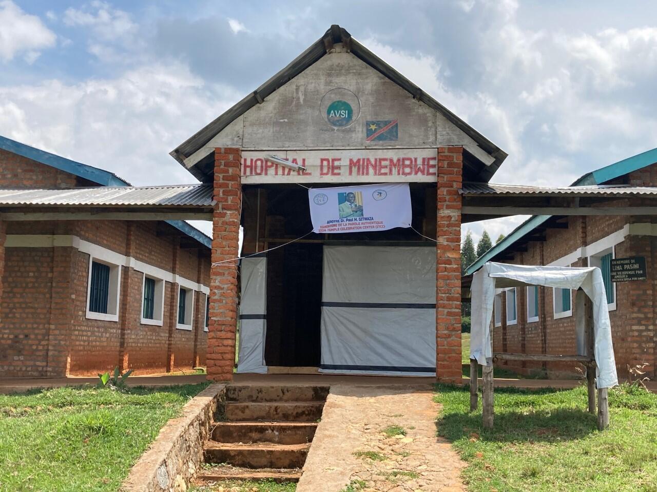 En RDC, l'hôpital de Minembwe peine à accueillir les patients de sa zone de santé.