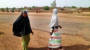 Deux habitantes d'une localité du nord du Mali.