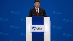 """Presidente chinês, Xi Jinping, se pronunciou na abertura do Fórum Econômico de Boao, o """"Davos asiático""""."""