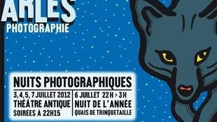 Affiche des Rencontres d'Arles 2012.