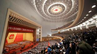 Quốc Hội Trung Quốc khai mạc khóa họp thường niên, Bắc Kinh, ngày 05/03/2019