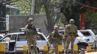 駐紮在阿富汗的美軍部隊