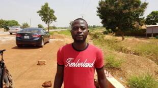 Issa Ilboudo, président du Conseil villageois de développement du village de Loumbila, au Burkina Faso.