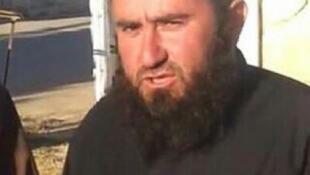 L'islamiste Georgien Oumar al shishani (Capture d'écran).