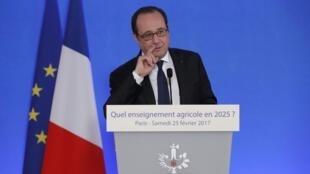 Выступление Франсуа Олланда на открытии Сельскохозяйственного салона, 25 февраля 2017 г