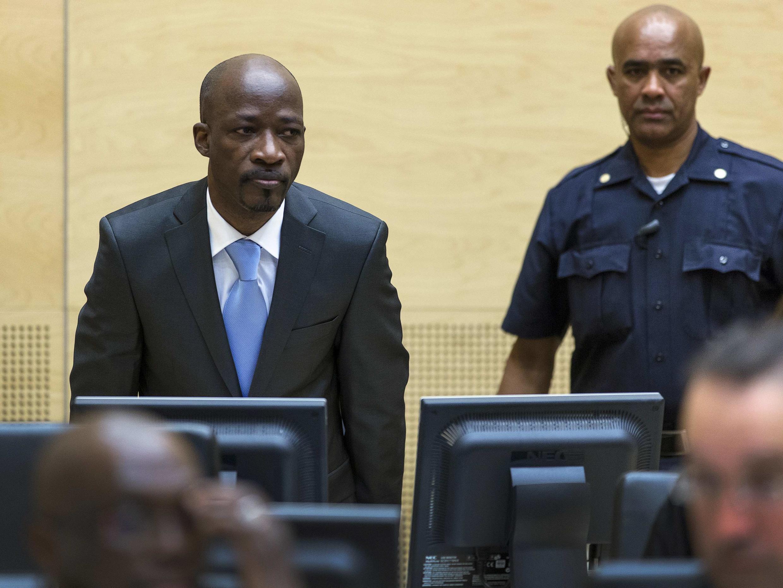 Charles Blé Goudé devant la Cour pénale internationale, le 27 mars 2014.