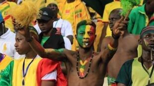 Des supporters maliens lors de la Coupe africaine des nations (CAN) 2017 (photo d'illustration).