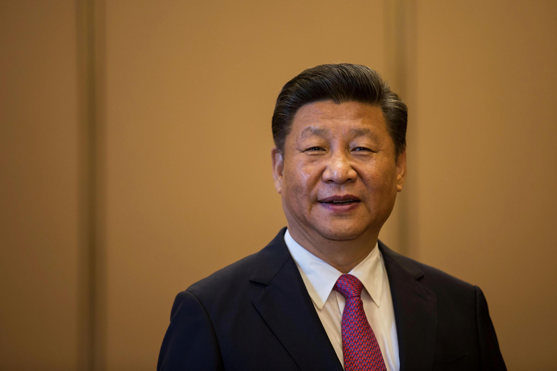 图为中国国家主席习近平在香港