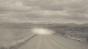 "From the series ""Echoes from Dust and Fracturation"", Karoo region, South Africa . 2012."