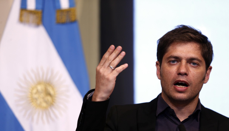 O ministro da Economia da Argentina, Axel Kicillof