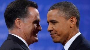 Mitt Romney và Barack Obama, 2 ngày trước bỏ phiếu.