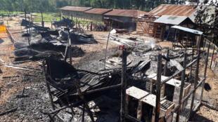 Un centre de traitement d'Ebola attaqué à Katwa, le 25 février 2019.