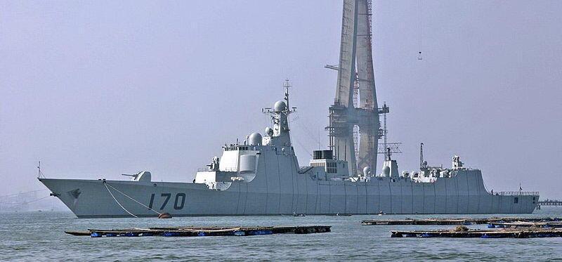 (Ảnh minh họa) - Khu trục hạm loại 052 C của Trung Quốc (ảnh: wikipedia.org)