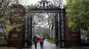 美國耶魯大學校園資料圖片