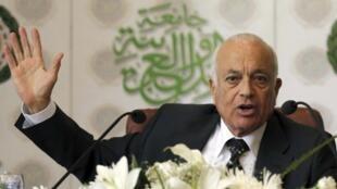 Le secrétaire général de la Ligue arabe, Nabil al-Arabi.