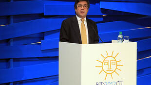 El presidente del Banco Interamericano de Desarrollo (BID), Luis Alberto Moreno