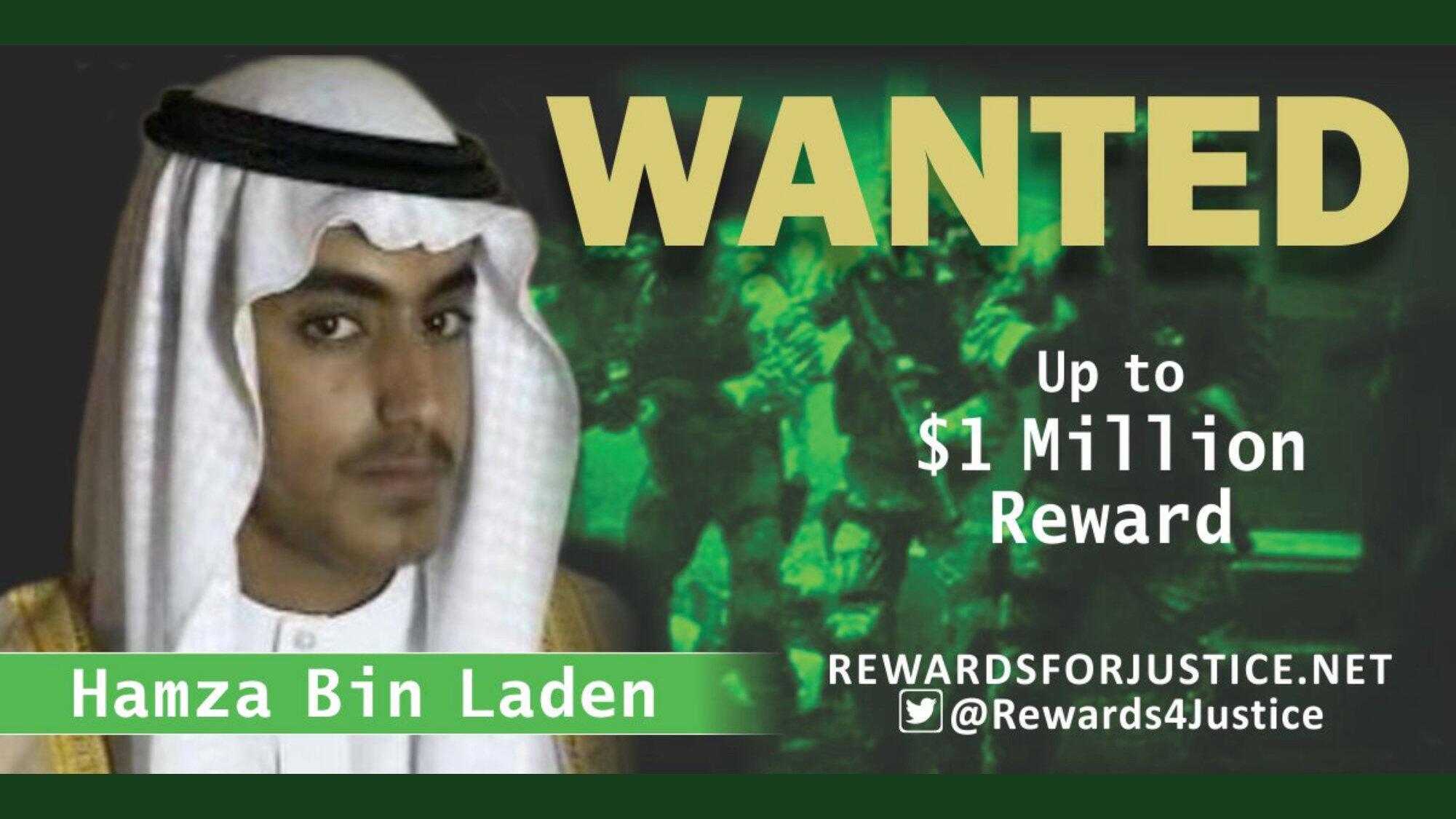 14/09/19- Trump confirma morte de filho de Bin Laden, considerado como seu sucessor à frente da Al Qaeda