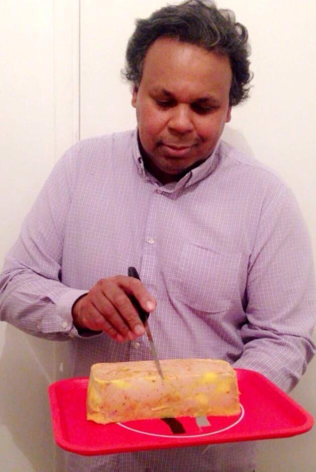 法國大廚克里斯田的甜椒鹽之花鵝肝醬