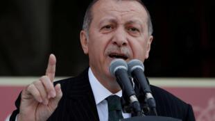 Recep Tayyip Erdoğan mène une offensive diplomatique dans les Balkans (photo d'illustration de mai 2018 à Istanbul)