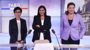 2020-06-22 france mayoral elections rachida dati anne hidalgo agnesbuzyn