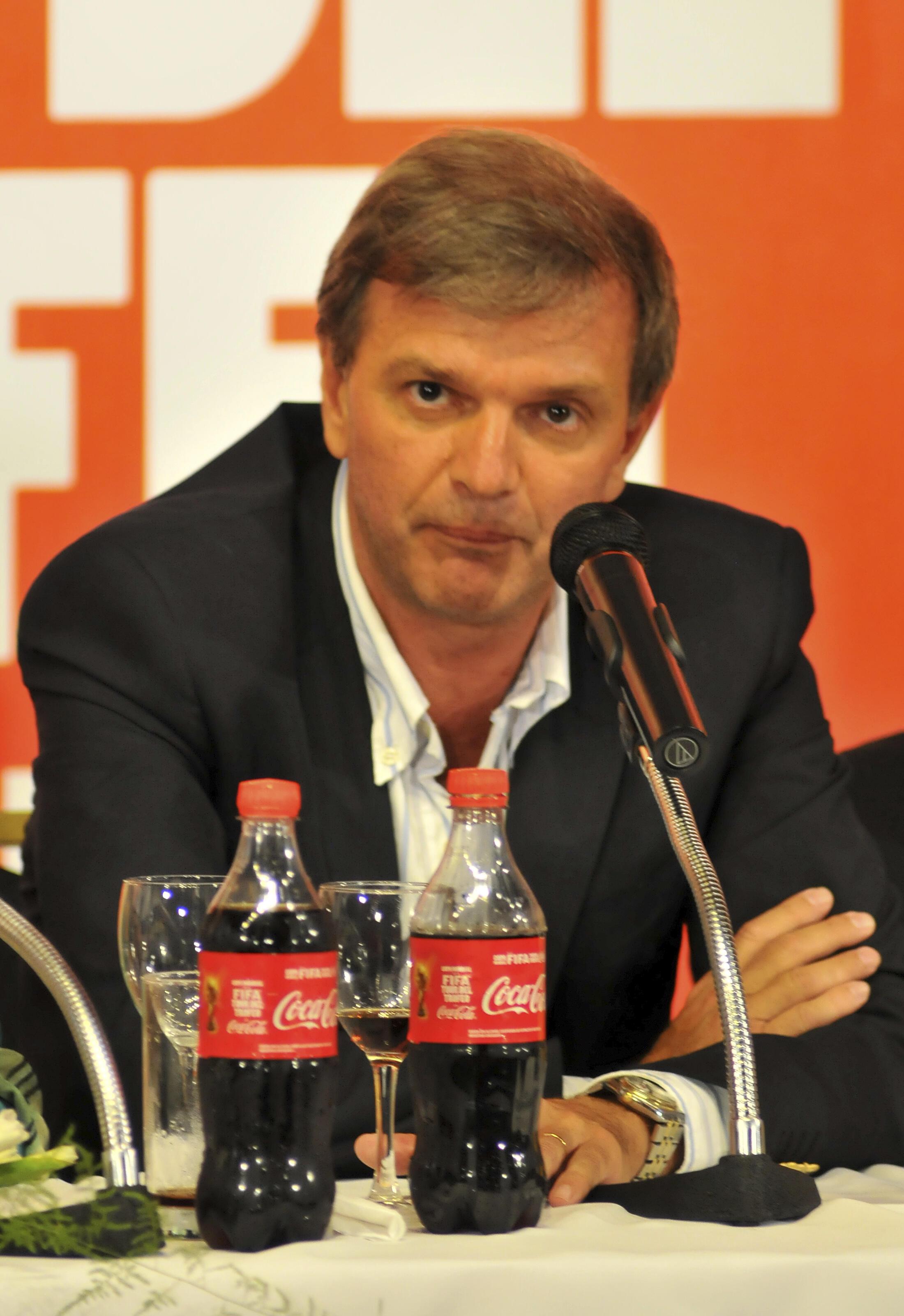 Sebastian Bauza, le 16 Janvier 2013 à Montevideo.