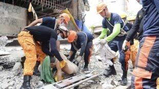 Trận động đất đã xảy ra tại tỉnh Cebu, Philippines, lúc 8 giờ 12 phút giờ địa phương