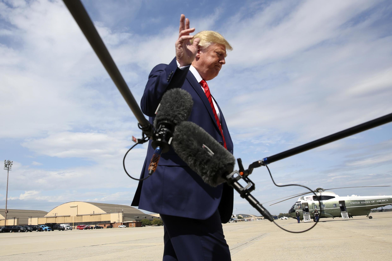 Donald Trump a encore dénoncé jeudi 26 septembre 2019 une «chasse aux sorcières».