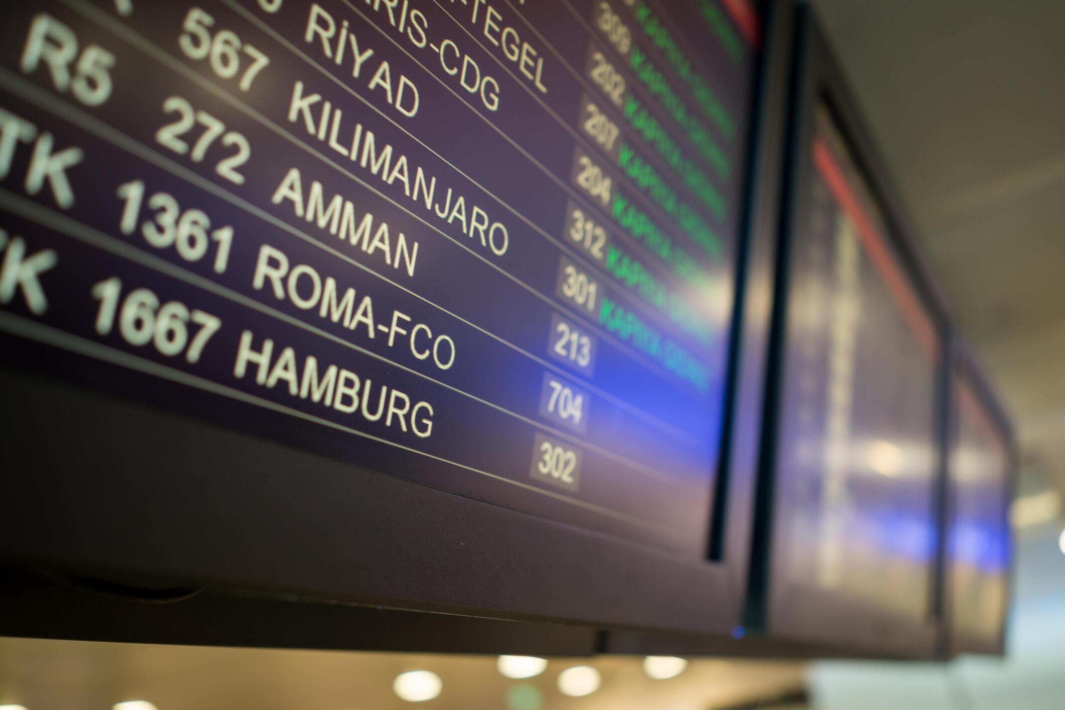 Les Palestiniens de l'étranger ne peuvent pas passer par la Jordanie pour rentrer dans les Territoires palestiniens, l'aéroport d'Amman n'accueille que les Jordaniens. (image d'illustration)
