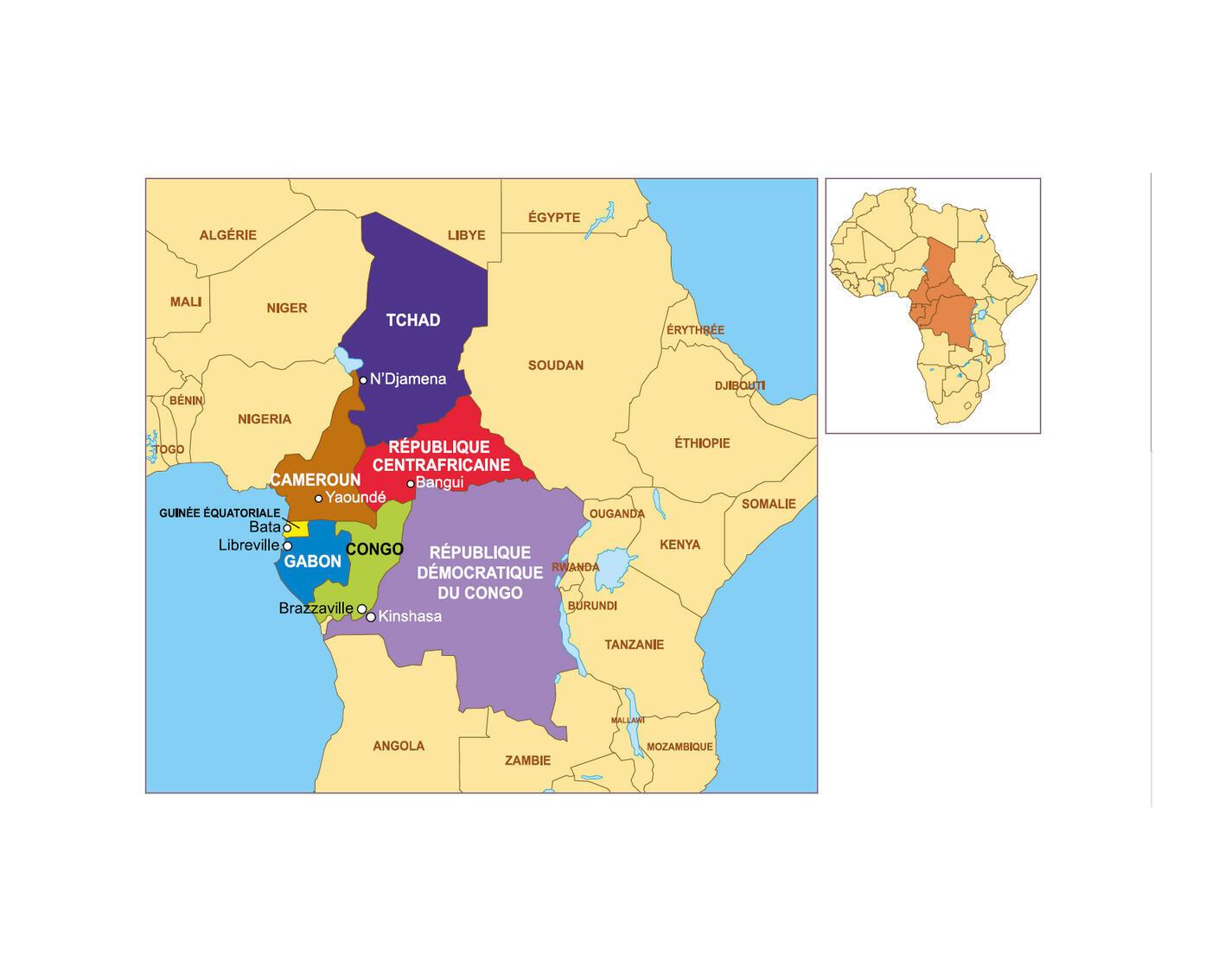 L'Afrique centrale, fief historique des OPEX