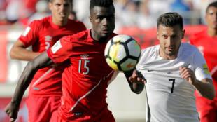 Nueva Zelanda se midió a Perú en el estadio de Westpac en Wellington, la capital neozelandesa, el 11 de noviembre de 2017.