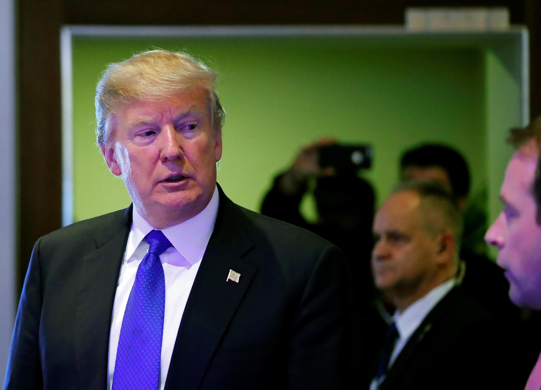 Tổng thống Donald Trump tại Diễn đàn Kinh tế Davos ngày 25/01/2018.